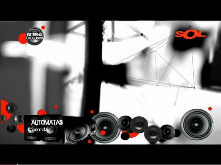 Frame AUTÓMATAS en Sol Musica TV