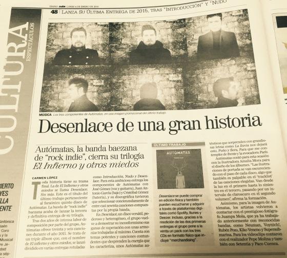 AUTÓMATAS en DiarioJaén